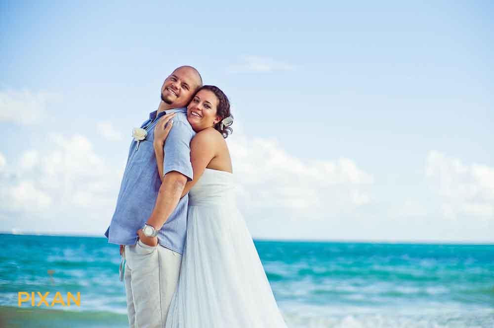 Beach Wedding Photo Playa del Carmen