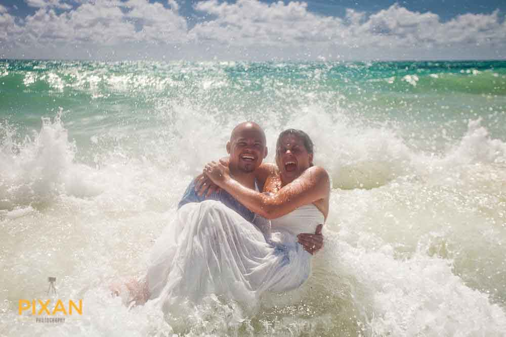 mexican beach wedding dresses