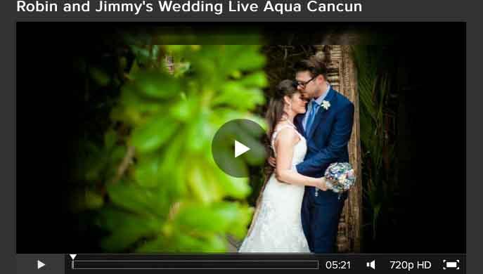 Live Aqua Cancun - Wedding - Robin_Jimmy-Slideshow