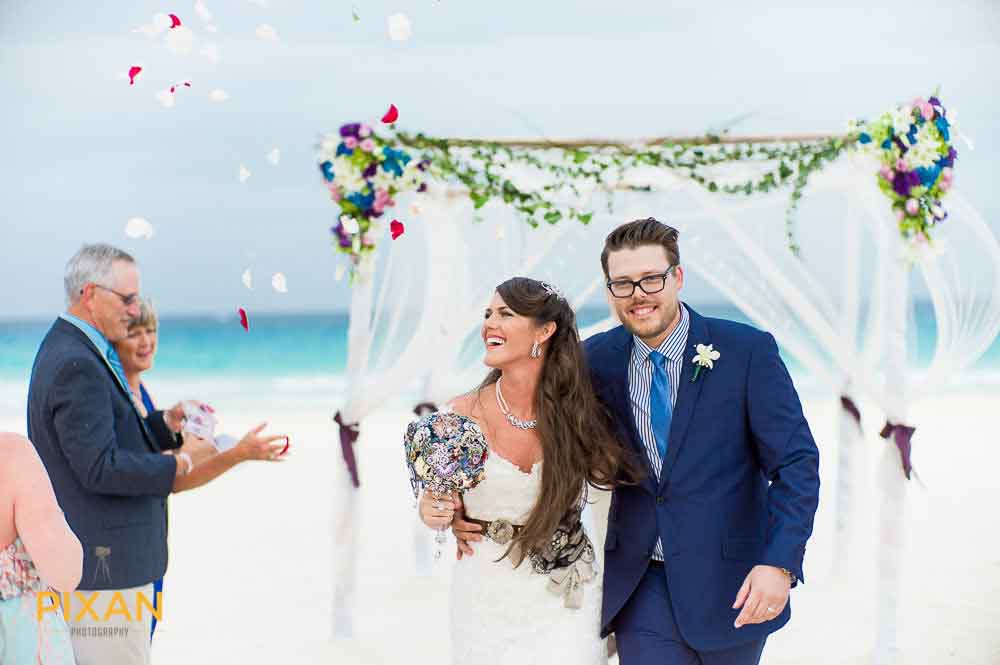 A lovely wedding in Mexico destination