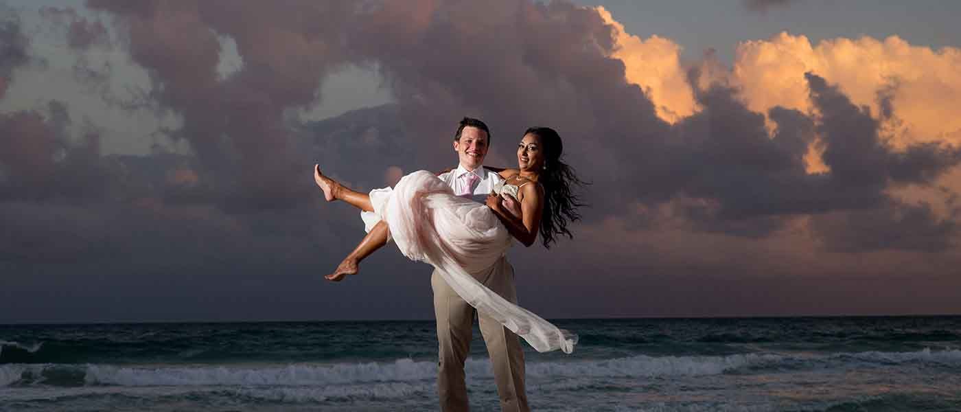 indian-wedding-cancun-bridal-sunset