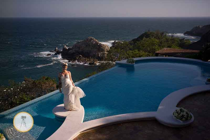 Huatulco Mexico Wedding Ceremony