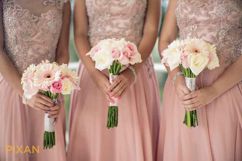 Pantone 2016 rose quartz inspiration for summer wedding