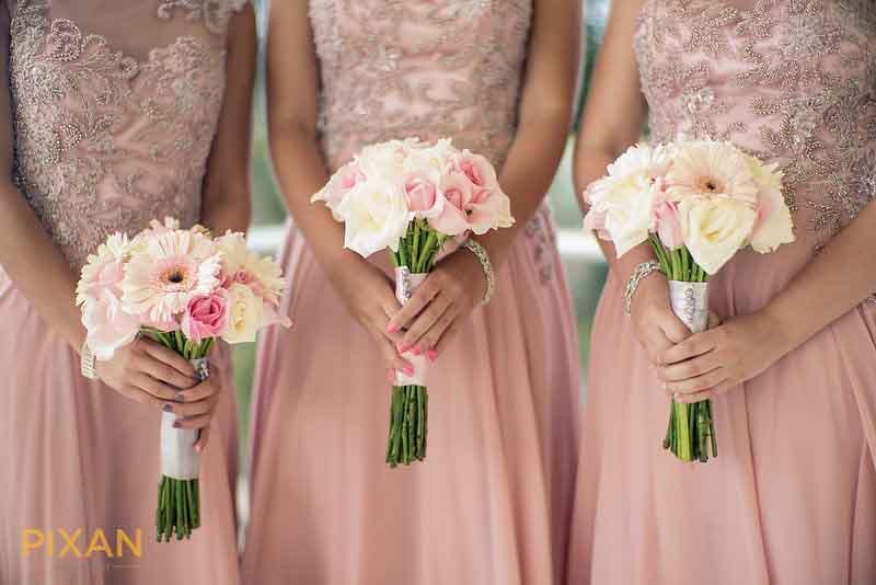 Pantone 2016 rose quartz inspiration for summer wedding