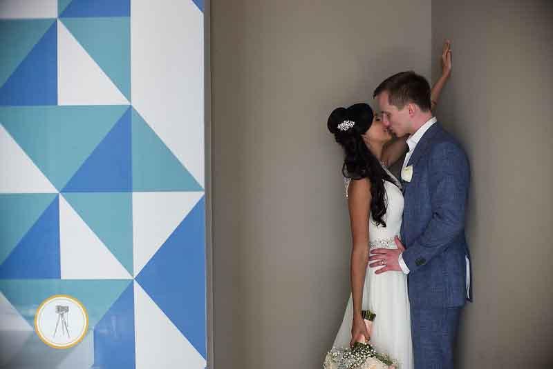 Geometric patterns in wedding design