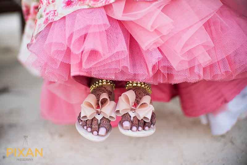 Bridal sandals for Indian wedding