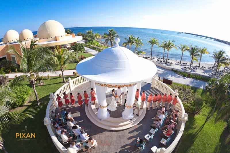 Wow location Barcelo Riviera Maya Deluxe Wedding Gazebo