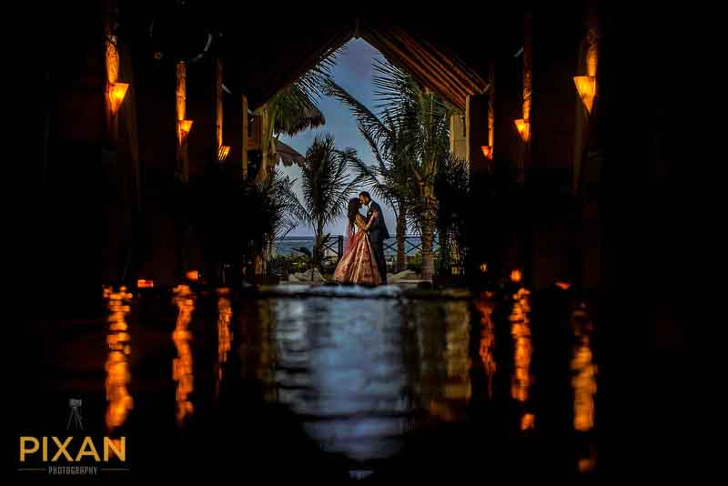 Azul Beach Indian Wedding Photo