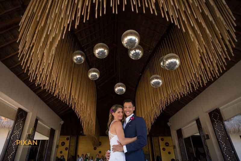adult beach wedding at Paradisus Playa del Carmen