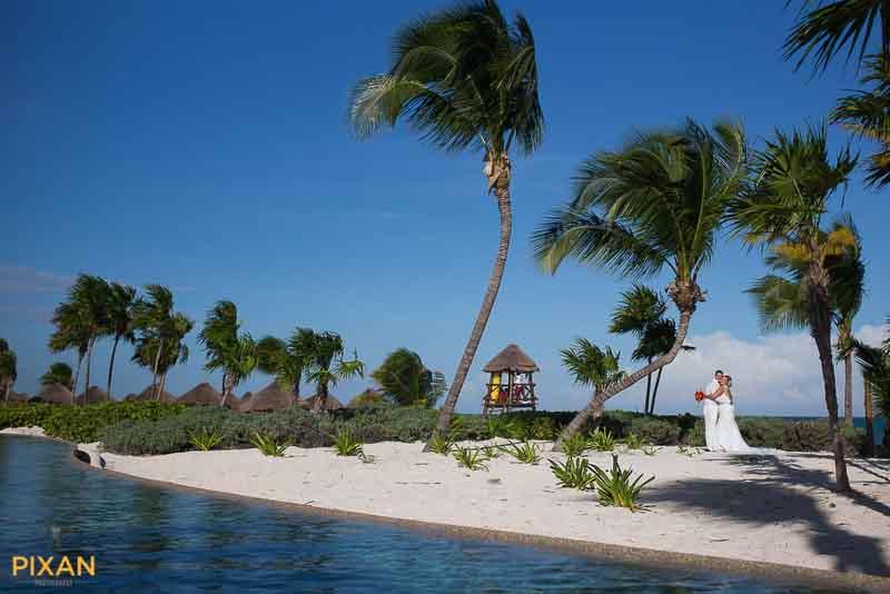 dream caribbean beach wedding photo at Secrets Maroma