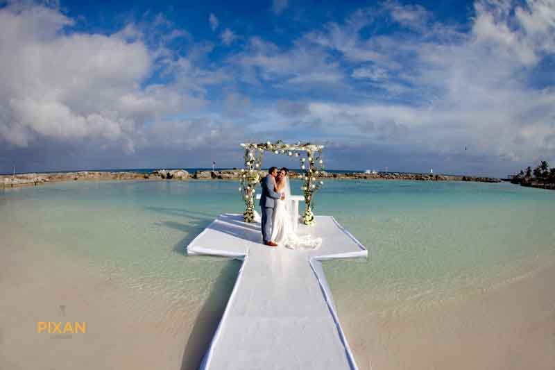 Beach Wedding Ceremony Hard Rock Riviera Maya