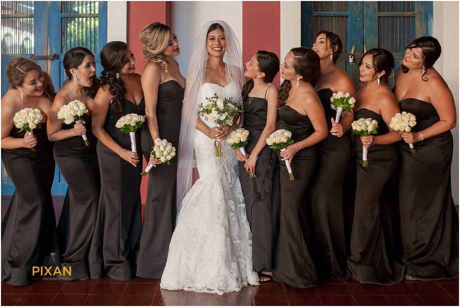 getting married at chapel of guadalupe xcaret