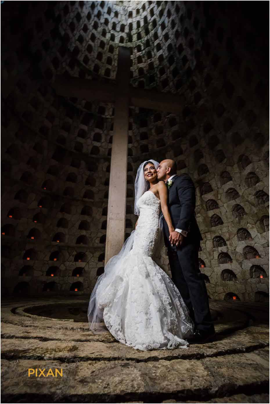 wedding photo shoot of the dead cemetery
