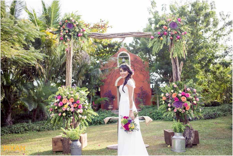 yucatan wedding reception