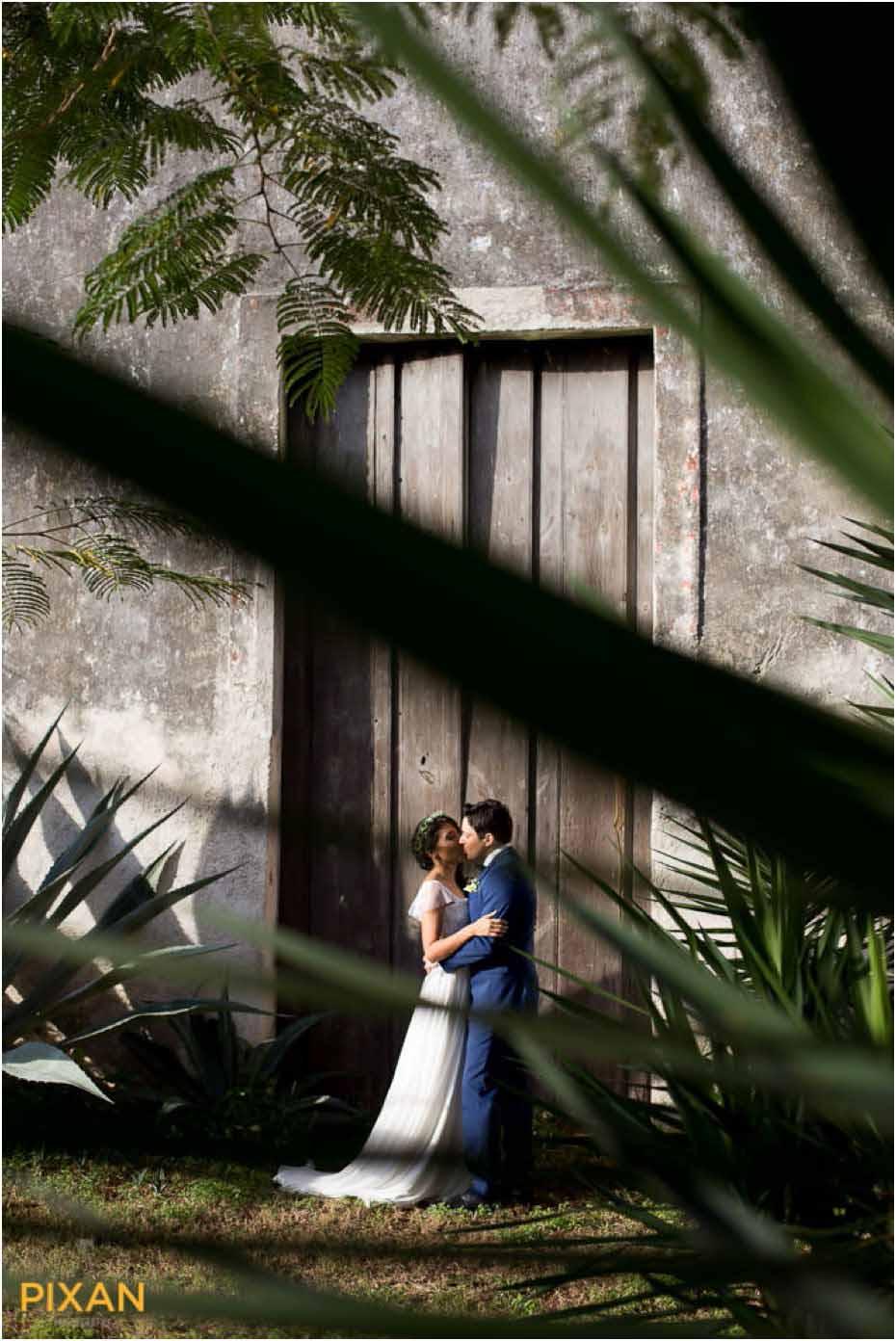 garden wedding in the yucatan
