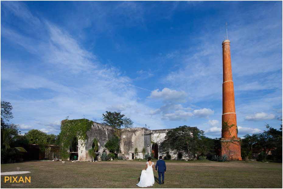 yucatan outdoor wedding