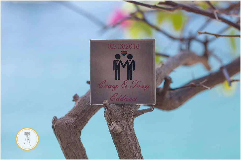 puerto vallarta gay wedding decor