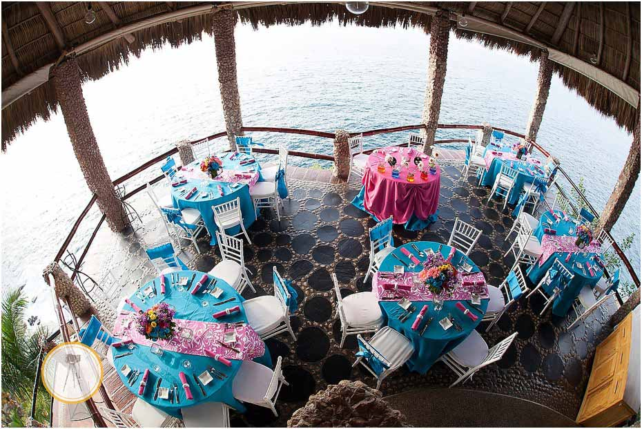 puerto vallarta wedding reception decor
