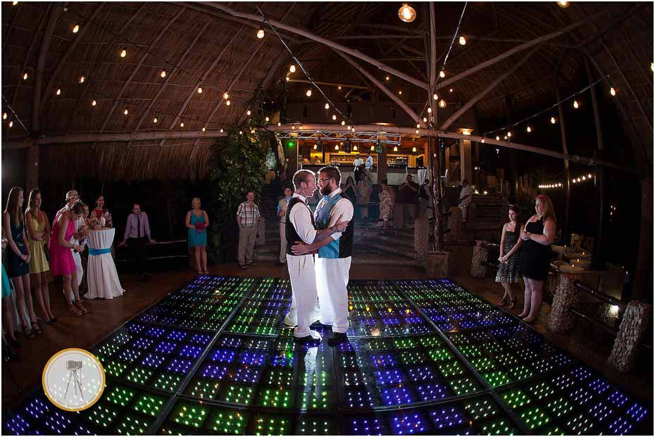 puerto vallarta first dance gay wedding
