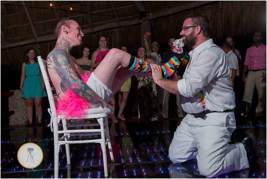 garter toss puerto vallarta gay wedding