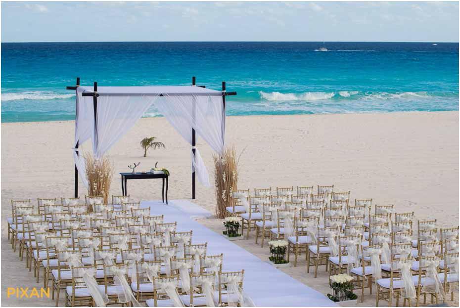 Ceremony Decor Pictures Le Blanc Resort Wedding