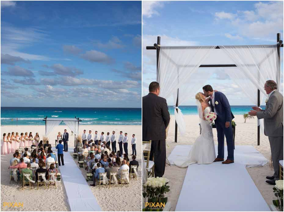 le blanc resort wedding ceremony