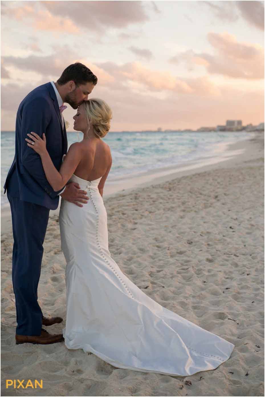 le blanc resort beach wedding