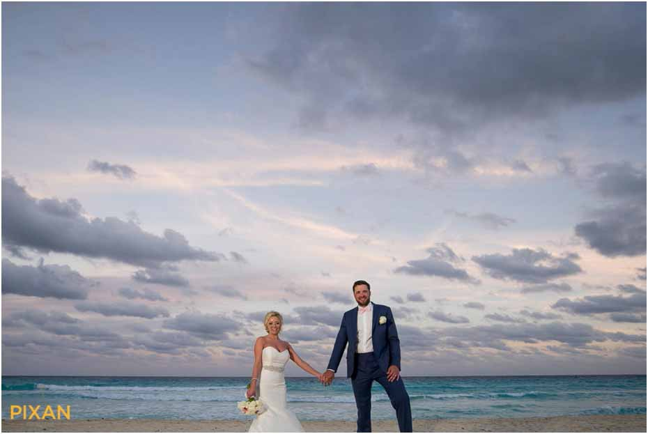 le blanc resort wedding beach photos