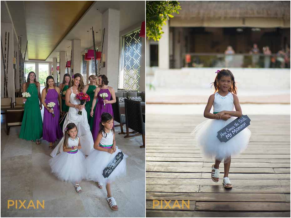 Pre-ceremony photos at Paradisus Playa del Carmen