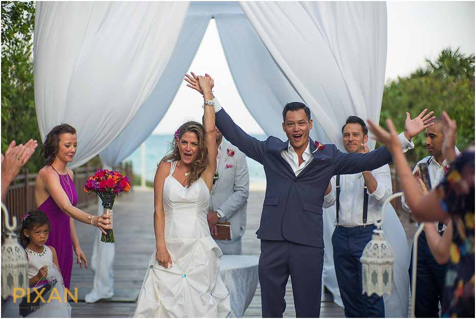Paradisus Playa del Carmen wedding photos