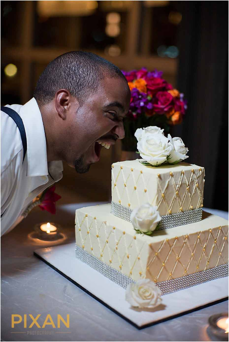 Paradisus Playa del Carmen wedding reception photos