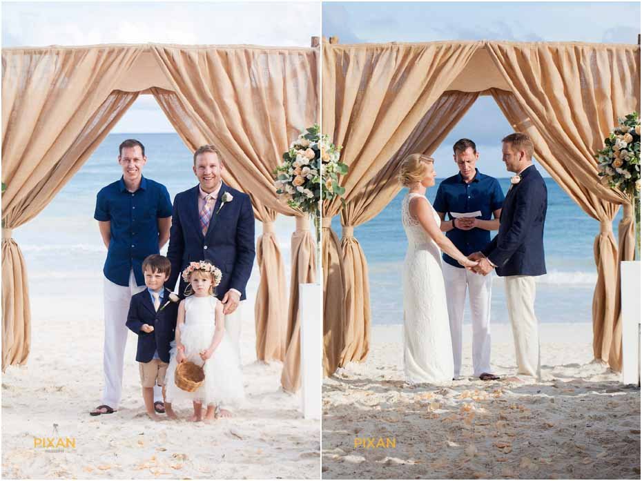 wedding in mahayana beach homes mexico