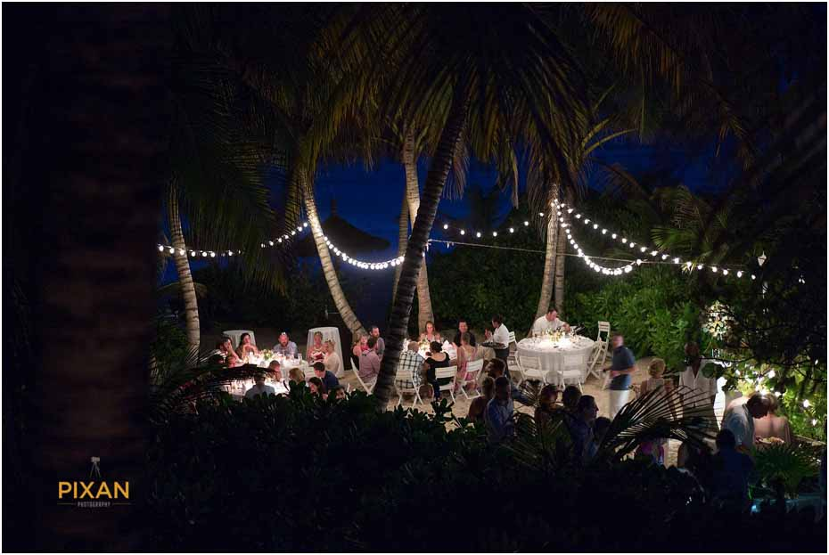 wedding reception in tulum mexico