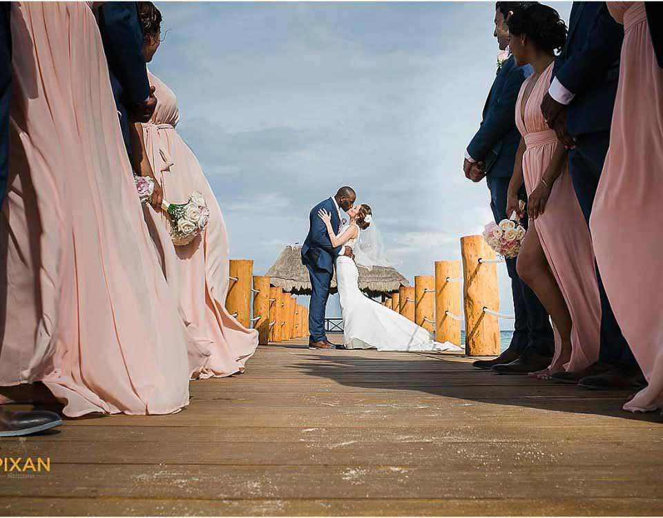 Azul Fives Hotel Playa Del Carmen Wedding Pixan Photography
