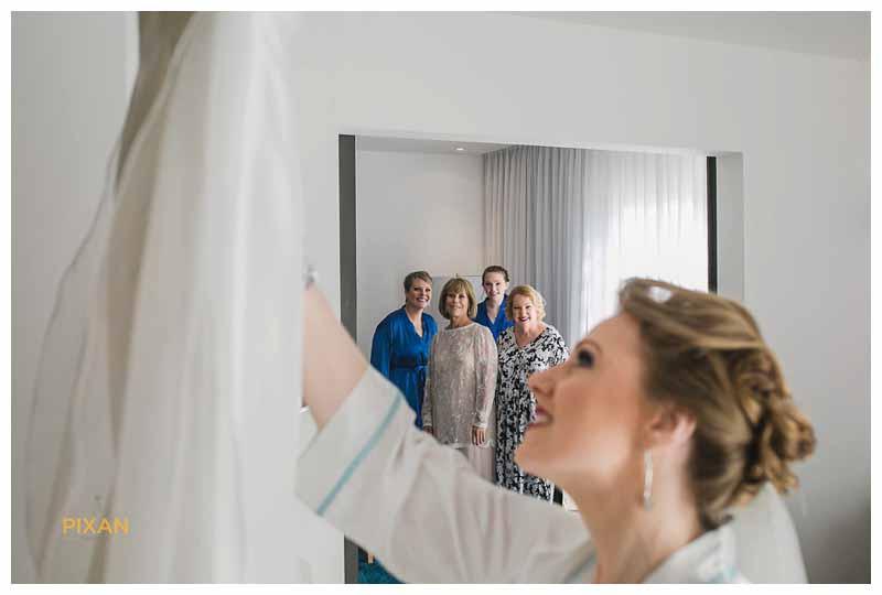 azul fives bridal portraits