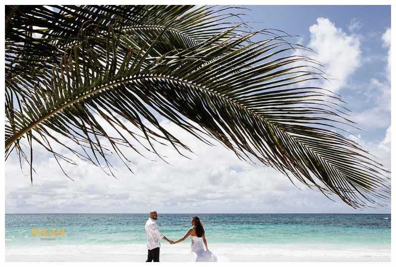 Hyatt Zilara beach wedding, Cancun
