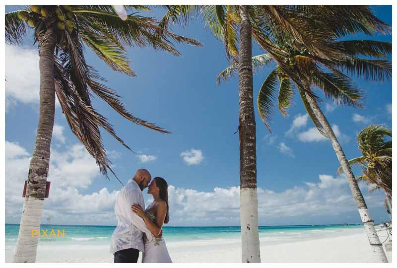 Hyatt Zilara beach wedding photography