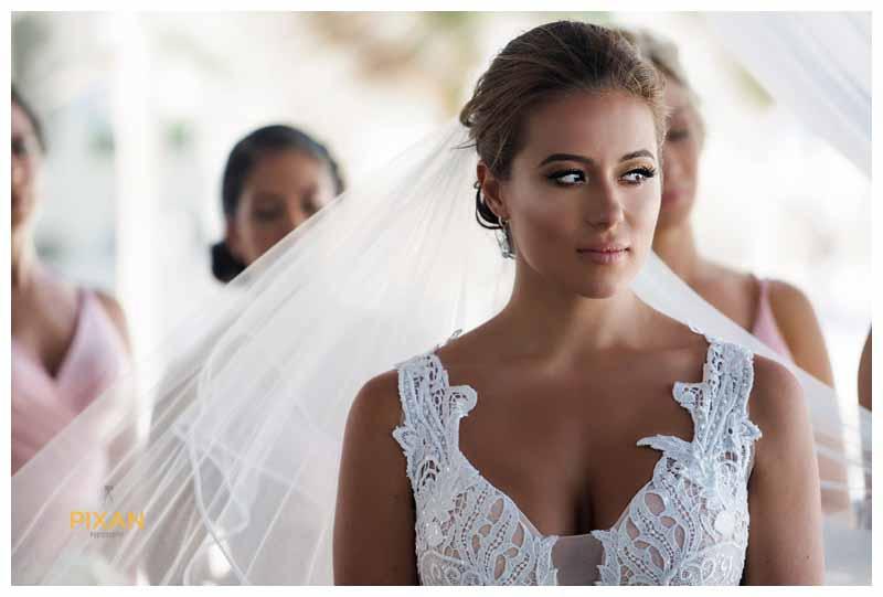 Custom Pnina Tornai bridal gown from Kleinfelds New York City