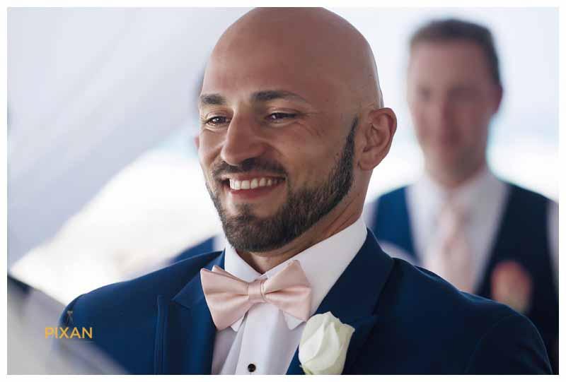Groom portraits Hyatt Zilara wedding