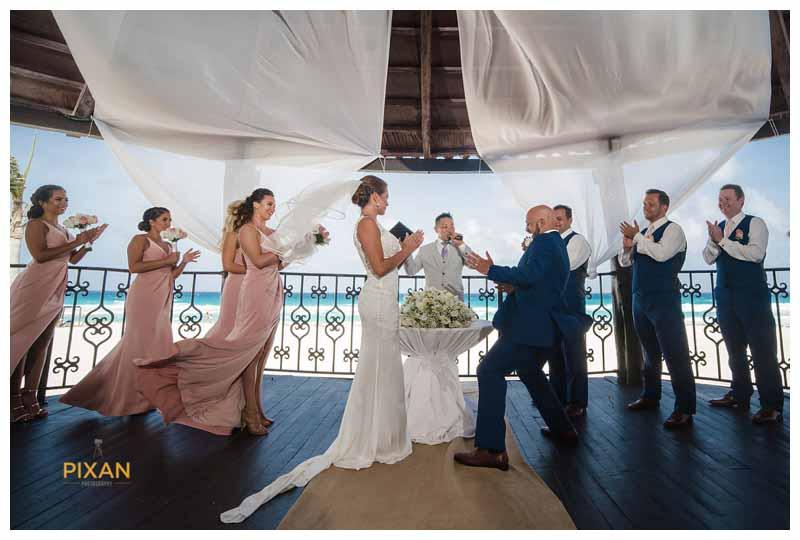 Hyatt Zilara wedding in Cancun, Mexico