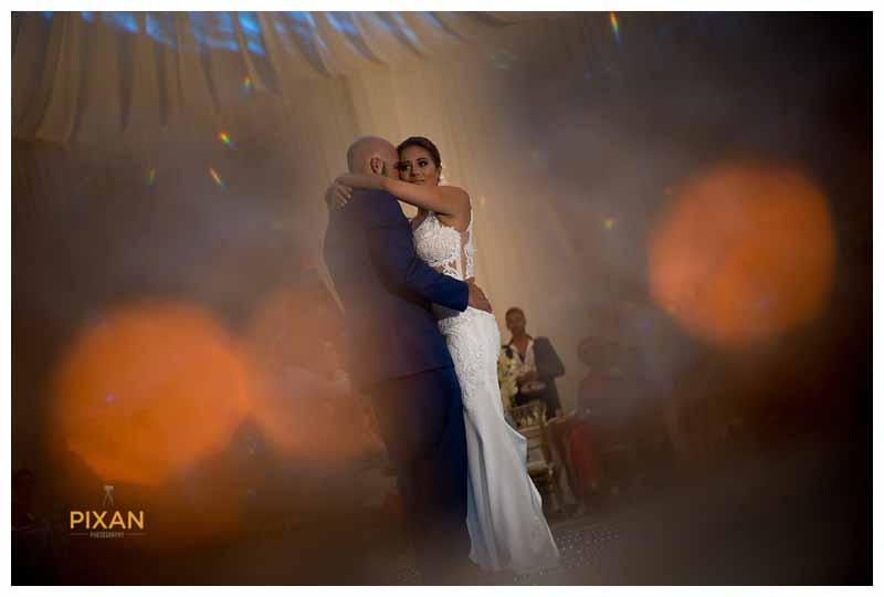 first dance Hyatt Zilara wedding, Cancun