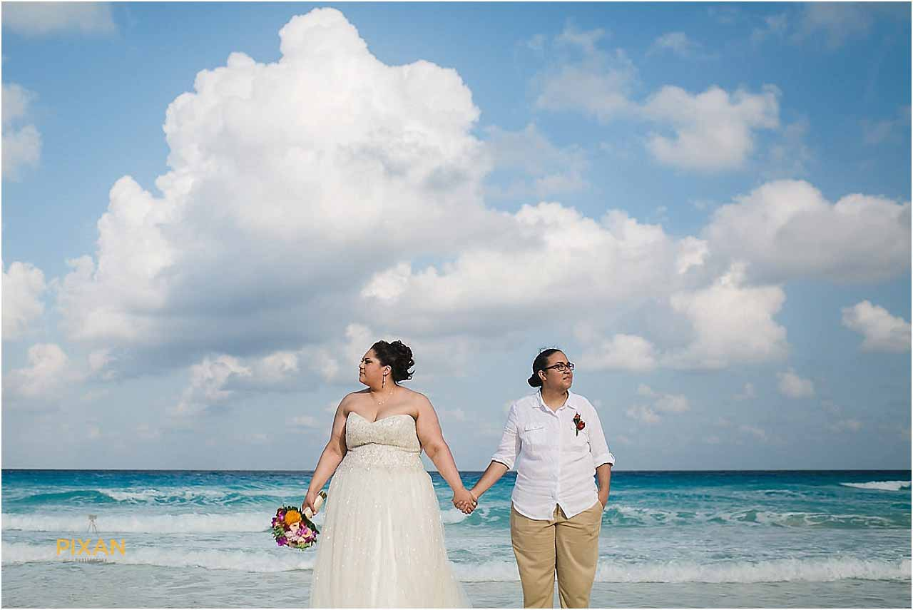 Cancun Beach Wedding at the Hyatt Zilara Resort