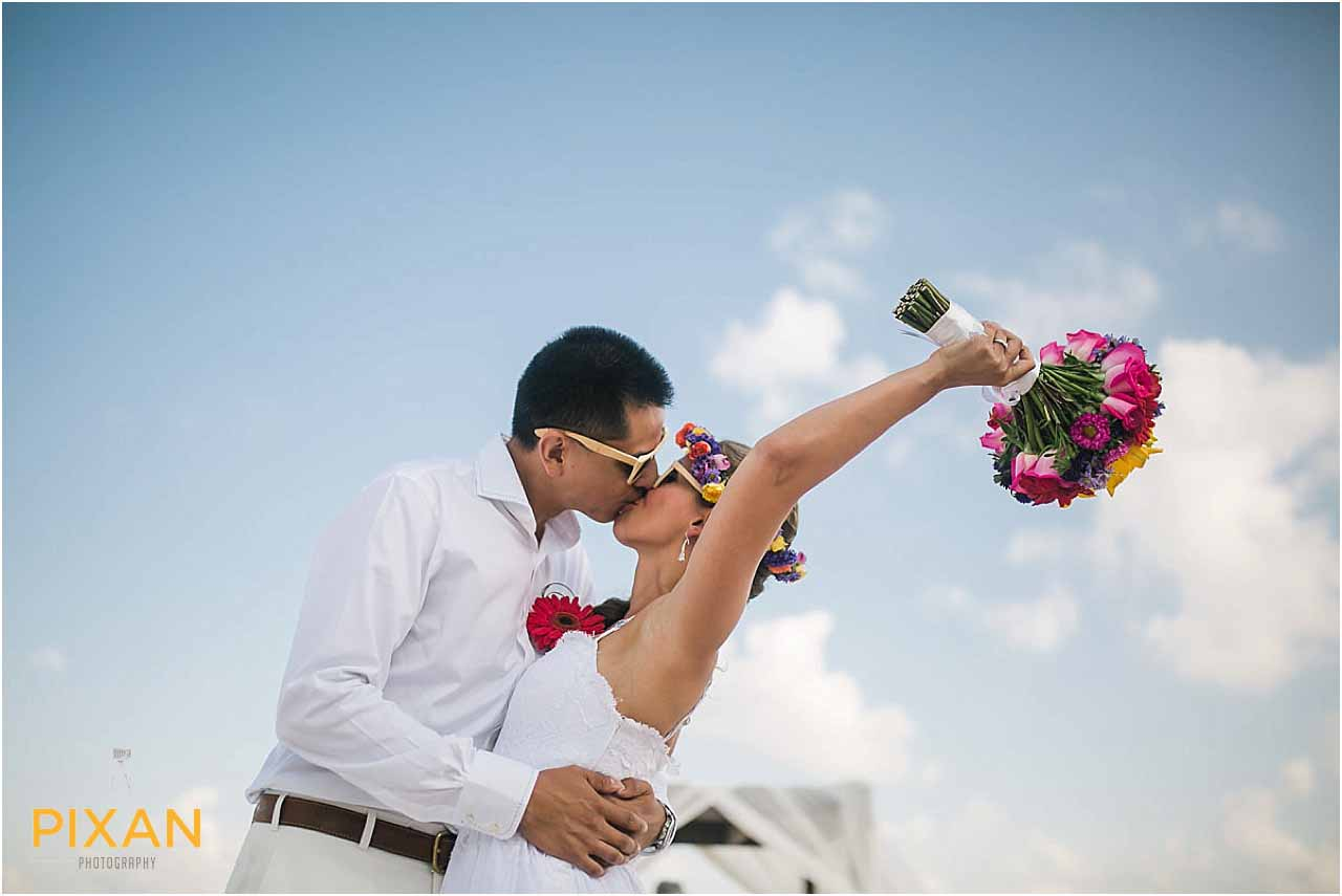 Just married at Hyatt Zilara Cancun