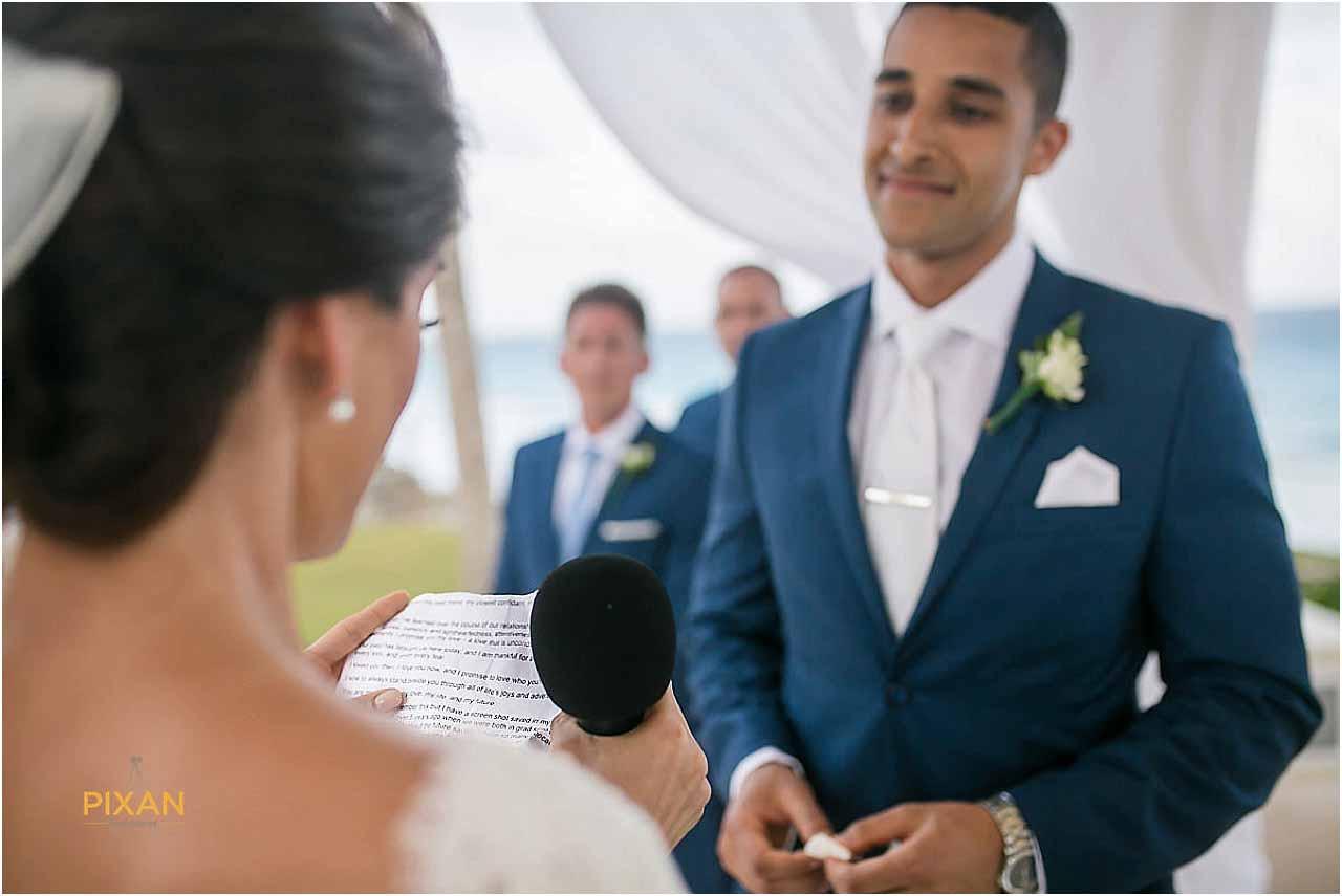 hyatt ziva cancun wedding vows