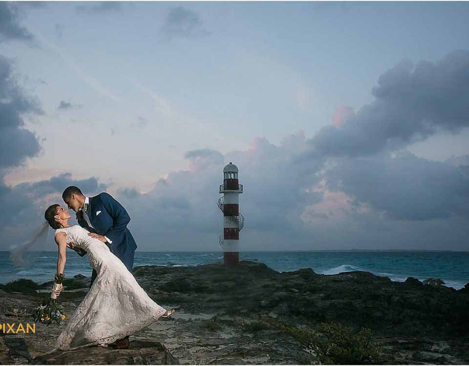Hyatt Ziva Cancun Wedding Pixan Photography