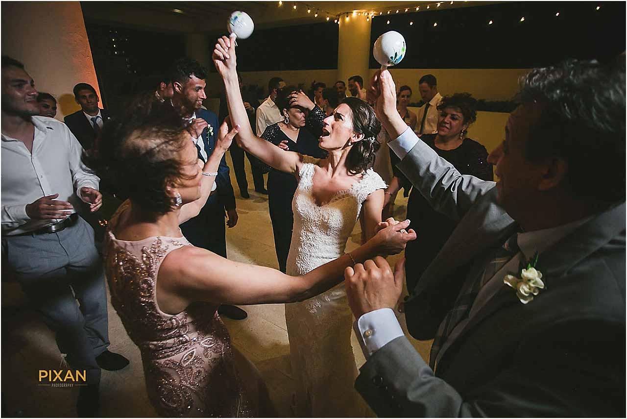 hyatt ziva cancun wedding reception music