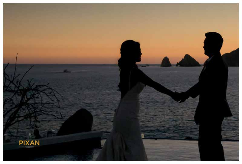 Sunset Mona Lisa Cabo Wedding in Mexico