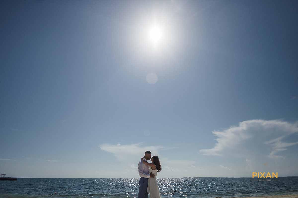 sun and sea bridal cancun