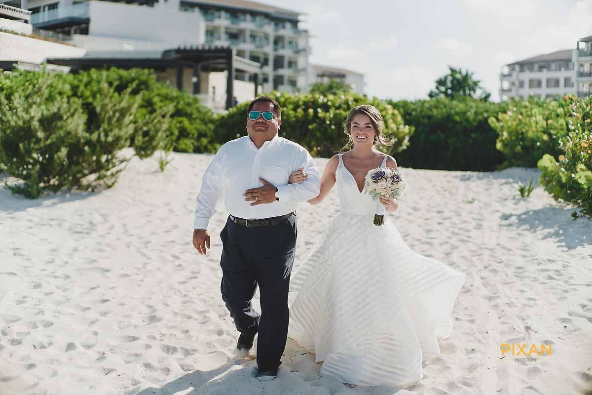 dreams playa mujeres beach wedding