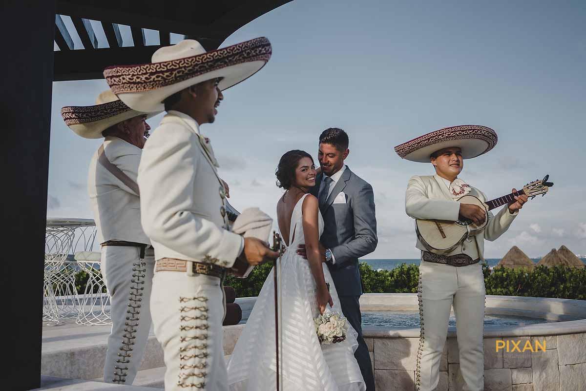 dreams playa mujeres wedding mariachi
